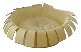 Designerbett Crown creme