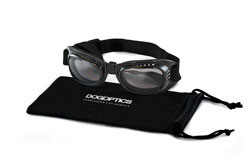 Sunglasses Dog Biker Black