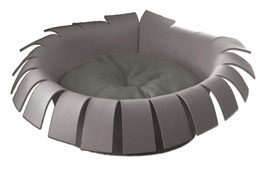 Designerbett Crown grey