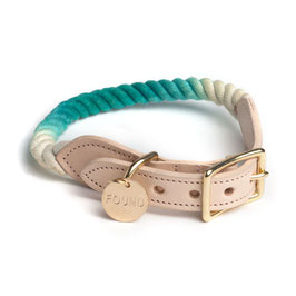 """Found Halsband """"Teal Ombre"""""""