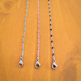 Chaine de cheville acier & couleur