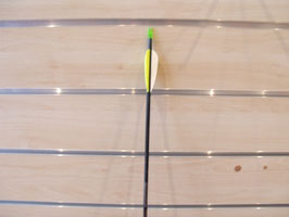 Flèche fiber arrow
