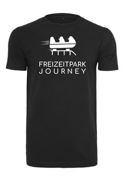 Freizeitpark T-Shirt - Unisex in Schwarz