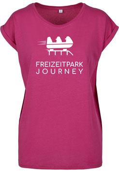 Freizeitpark T-Shirt - Weiblich in Pink