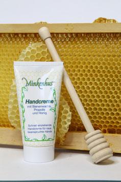 Versch. Handcremes mit Bienenwachs, Propolis und Honig
