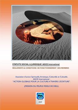 Statuts Social et Juridique AGCE International
