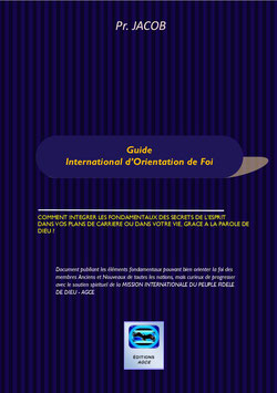 Guide International d'Orientation de foi :
