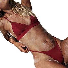 Tpulling Femmes Push-up rembourrés Soutien-Gorge Bikini [ Maillot de Bain Femme 2 Pieces ]