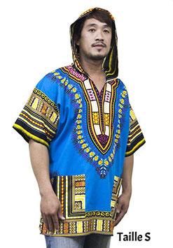 Lofbaz Robe Chemise Unisexe Africaine Traditionnelle Imprimé Dashiki