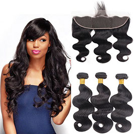 10A 13x4 Ear to Ear Lace Frontal Closure with Hair...