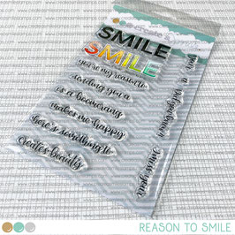 Clear A6 Reason to smile