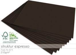 Cardstock Struktur espresso