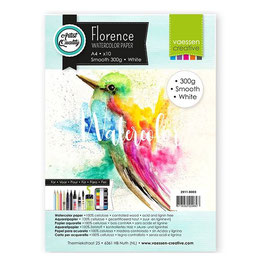 Florence Watercolor Paper Smooth white 300g A4