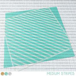 Stencil: Medium Stripes