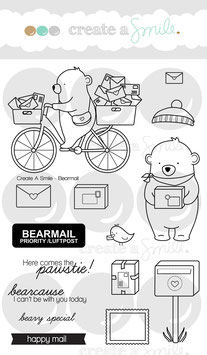 Clear A6 Bear Mail
