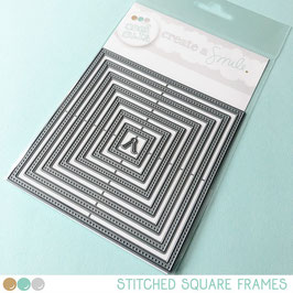 Cool Cuts Stitched Square Frames