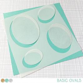 Stencil: Basic Ovals