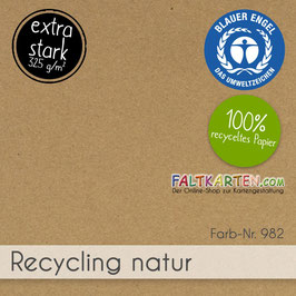 Cardstock Recycling Natur 325g/m²