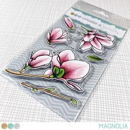 Clear A6 Magnolia