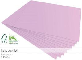 Cardstock Lavendel