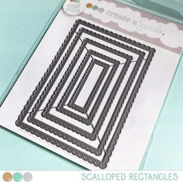 Cool Cuts Scalloped Rectangles