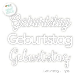 Cool Cuts Geburtags-Triple