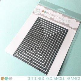 Cool Cuts Stitched Rectangle Frames
