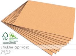 Cardstock Struktur Aprikose