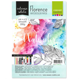 Florence Watercolor Paper Smooth white 200g A4