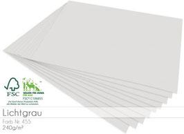 Cardstock Lichtgrau
