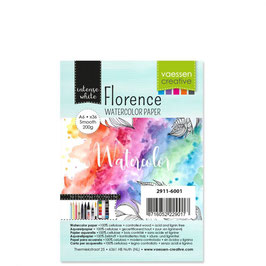 Florence Watercolor Paper Smooth white 200g A6