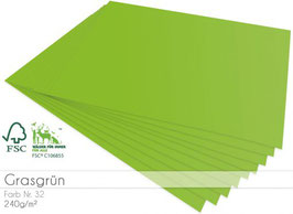 Cardstock Grasgrün