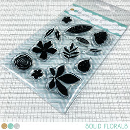 Clear A7 Solid Florals