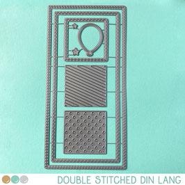 Cool Cuts Double Stitched DIN Lang
