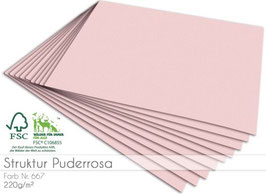 Cardstock Struktur Puderrosa