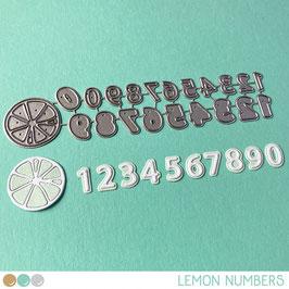 Cool Cuts Lemon Numbers