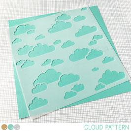 Stencil: Cloud Pattern