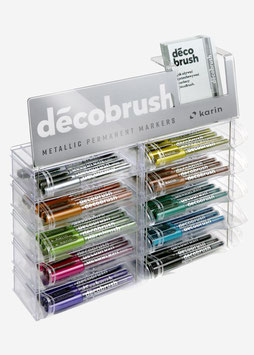 Deco Brush Metallic • Individual colors