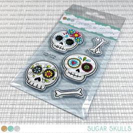 Clear A7 Sugar Skulls