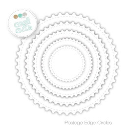 Cool Cuts Postage Edge Circles