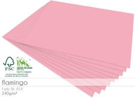 Cardstock Flamingo