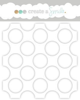 Stencil: Huge Polka Dots