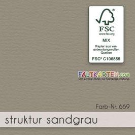 Cardstock Sandgrau