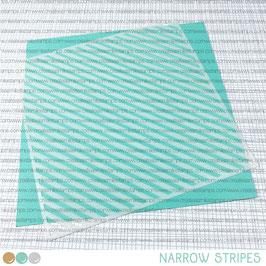 Stencil: Narrow Stripes