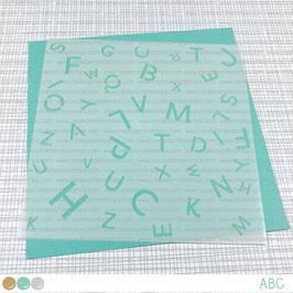 Stencil: ABC
