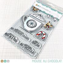 Clear A6 Mouse au Chocolat