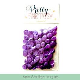 Pretty Pink Posh Amethyst 6mm