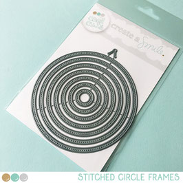Cool Cuts Stitched Circle Frames
