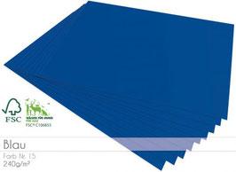 Cardstock Blau