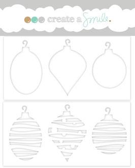 Stencil: Ornaments